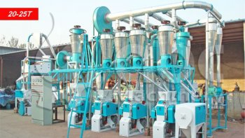 Flour Mill Machinery Cost
