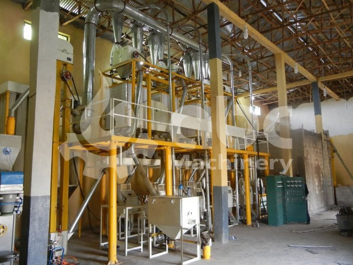 40TPD Wheat Flour Mill Project in Ethiopia