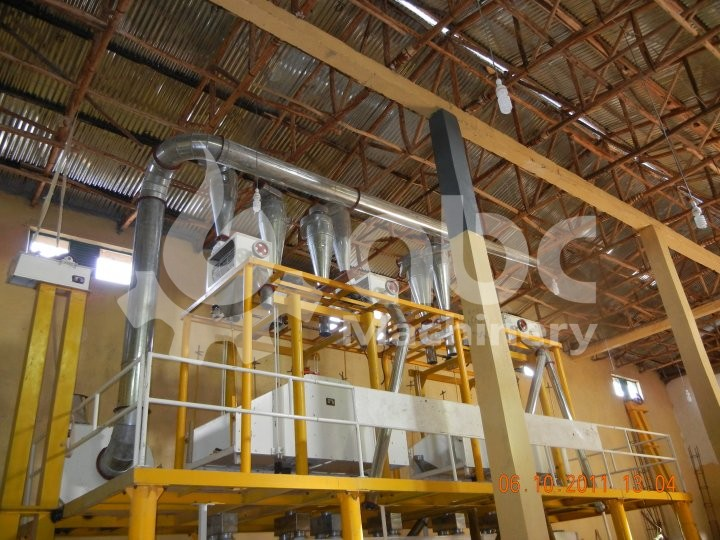 40TPD Flour Mill Project in Ethiopia