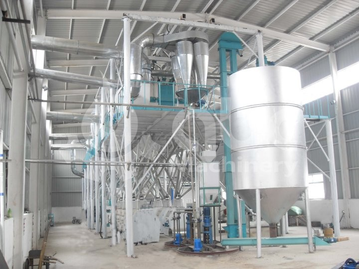 80TPD Corn Flour and Grits Plant in Uganda