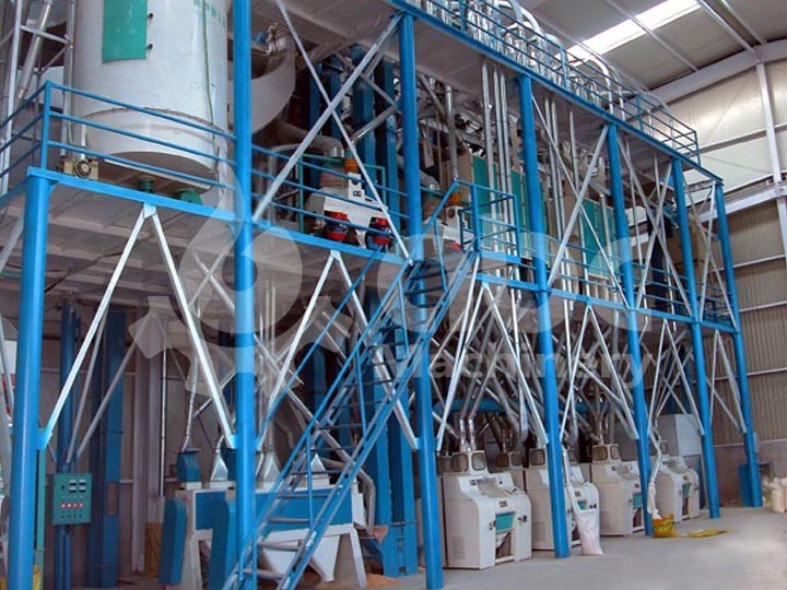 80TPD Wheat Flour Production Line in Ethiopia