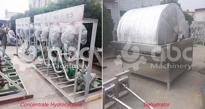 pea starch processing plant equipment