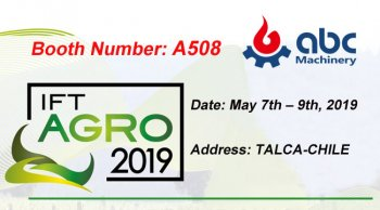Invite You to Our IFT Agro 2019