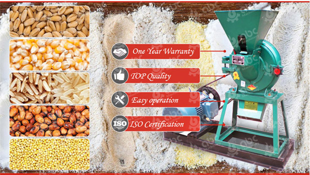 cassava maize wheat rice flour making machine