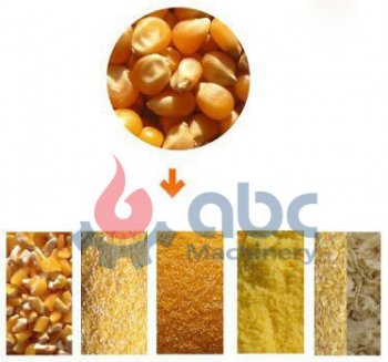 ABC Machinery Introduce You Corn Flour Milling Process
