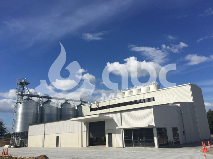 160TPD Wheat Flour Plant in New Zealand
