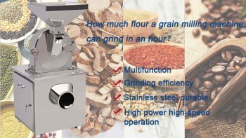 Grain Flour Grind Milling Machine
