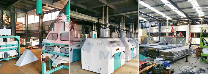 machinery of flour mill plant design