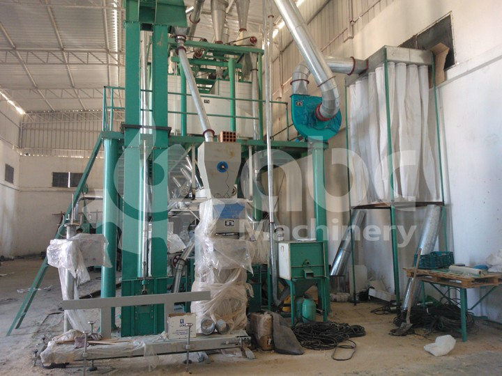packing machine of flour milling plant