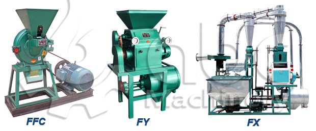 small scale flour machines