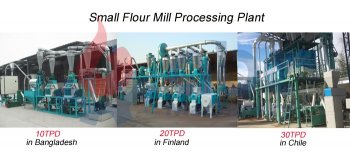 Small Flour Mill Processing Plant
